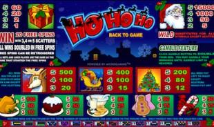 aperçu jeu Ho Ho Ho 2
