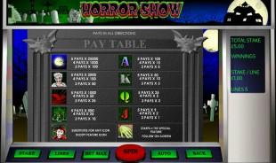 aperçu jeu Horror Show 2