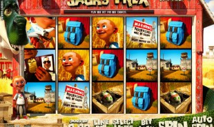 aperçu jeu Jack's T-Rex 1