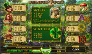 aperçu jeu Jumpin Pot 2