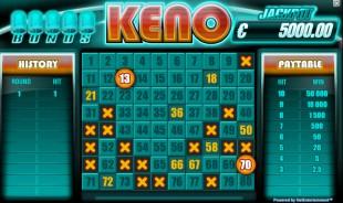 aperçu jeu Bonus Keno 1