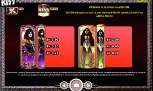 aperçu jeu Kiss 2