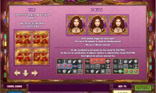 aperçu jeu Lady of Fortune 2