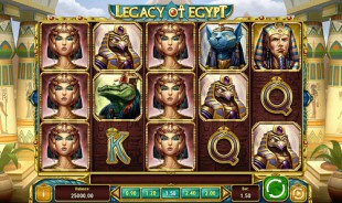 jeu Legacy of Egypt