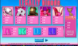 aperçu jeu Legally Blonde 2