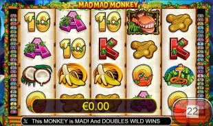 jeu Mad Mad Monkey