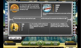 aperçu jeu Mega Fortune 2