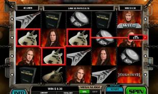 aperçu jeu Megadeth 1