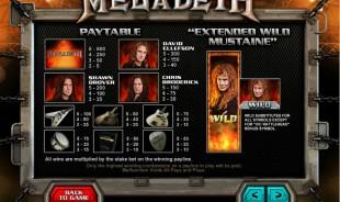 aperçu jeu Megadeth 2