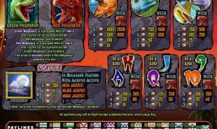 aperçu jeu Megasaur 2