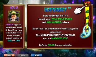 aperçu jeu Merlin's Millions 2