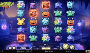 jeu de casino du 15 août 2020 Monster Pop