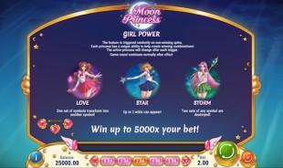 aperçu jeu Moon Princess 2