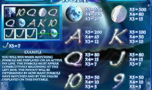aperçu jeu Mystic Wolf 2