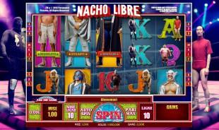 aperçu jeu Nacho Libre 1