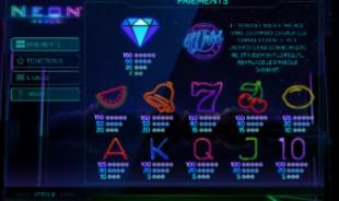 aperçu jeu Neon Reels 2