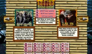 aperçu jeu Ninja Spirit 2