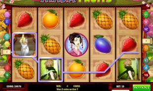 jeu Ninja Fruit