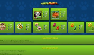 PandaMania™ Slot Machine Game to Play Free in NextGen Gamings Online Casinos