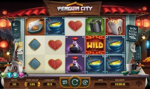 jeu Penguin City