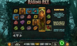 aperçu jeu Raging Rex 2