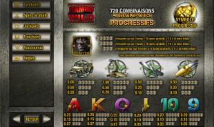 aperçu jeu Rambo 2