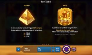 aperçu jeu Rise of Egypt 2
