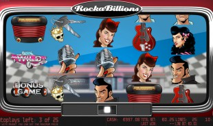 aperçu jeu Rockabillions 1