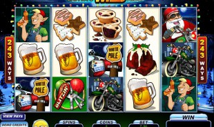 aperçu jeu Santa's Wild Ride 1