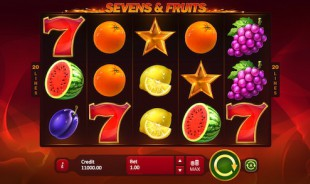 jeu Sevens & Fruits