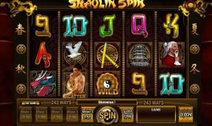 jeu Shaolin Spin