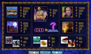 aperçu jeu Sinbad 2