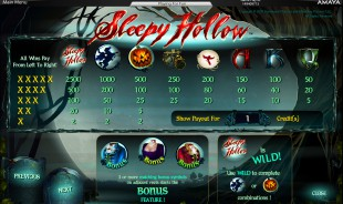 aperçu jeu Sleepy Hollow 2