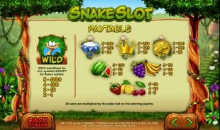 aperçu jeu Snake Slot 2