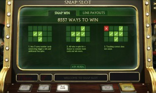 aperçu jeu Snap Slot 2