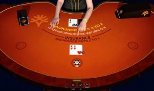 aperçu jeu Sonya Blackjack 2