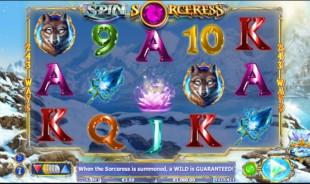 jeu Spin Sorceress