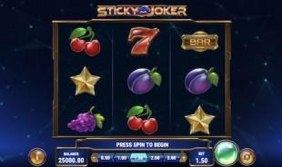 aperçu jeu Sticky Joker 1
