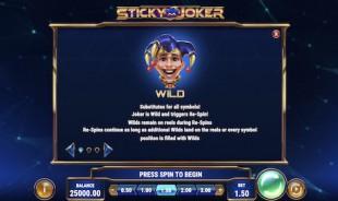 aperçu jeu Sticky Joker 2