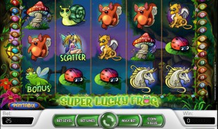 jeu Super Lucky Frog