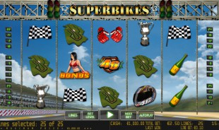 jeu de casino du 24 octobre 2016 Superbikes