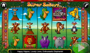jeu Super Safari