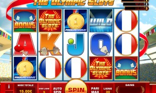aperçu jeu The Olympic Slots 1
