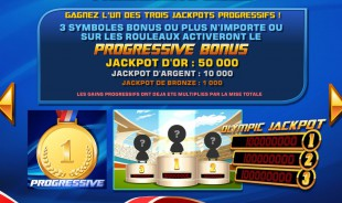 aperçu jeu The Olympic Slots 2