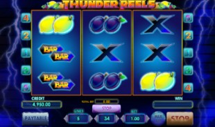 aperçu jeu Thunder Reels 1