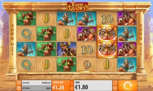 jeu Tiger's Glory