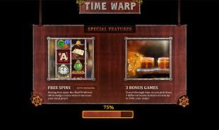 aperçu jeu Time Warp 1