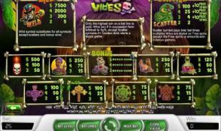 aperçu jeu Voodoo Vibes 2