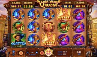 jeu Wild Wild Quest
