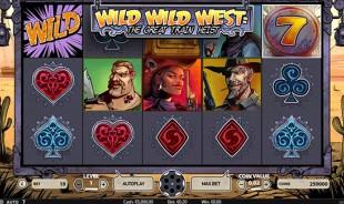 jeu Wild Wild West